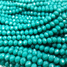 Cristalli 6mm - 35 Smeraldo scuro