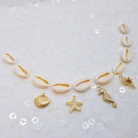 Pacchetto Charms mare Variante 2